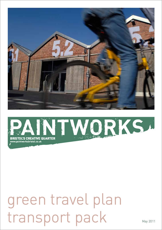 Green Travel Plan,  Paintworks, Bristol