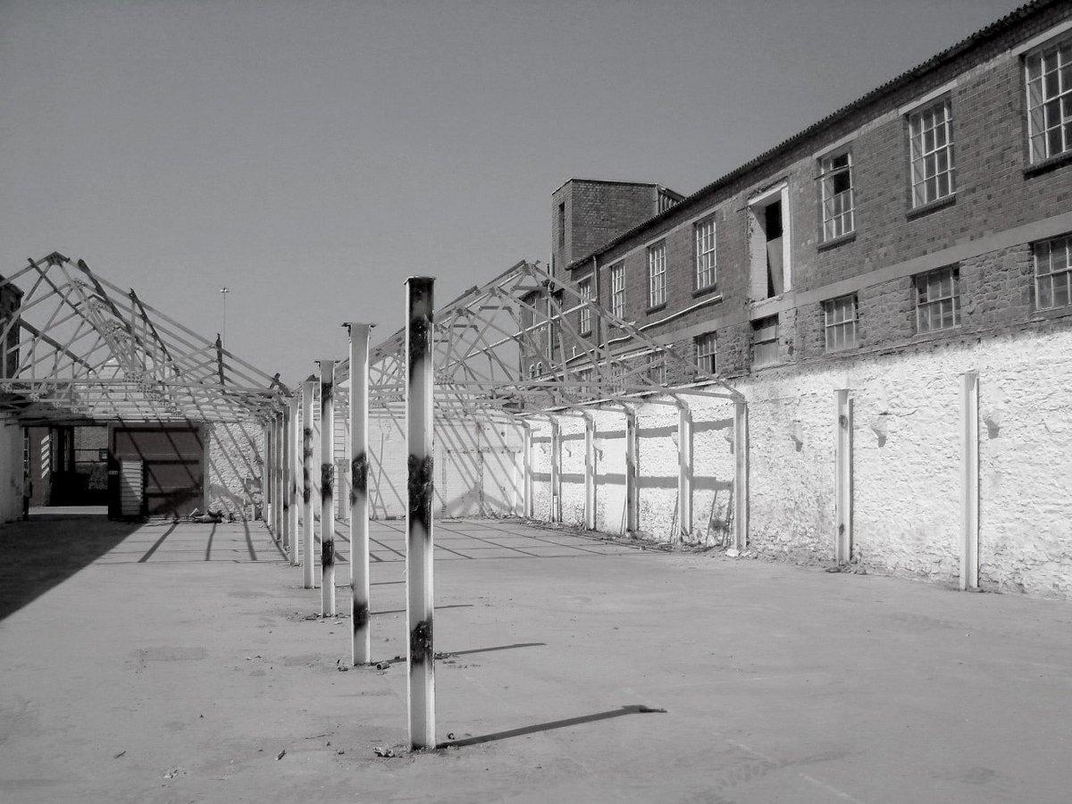 Courtyard before