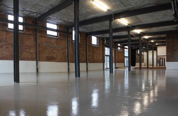 Blank canvas event space