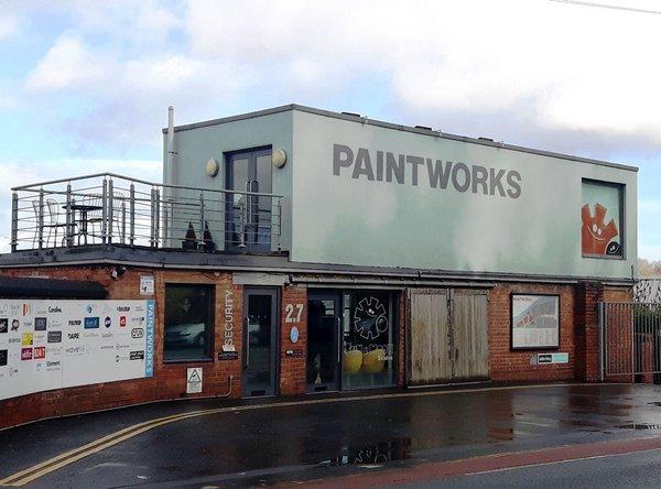Unit 2.7 Paintworks Bristol, For Sale.