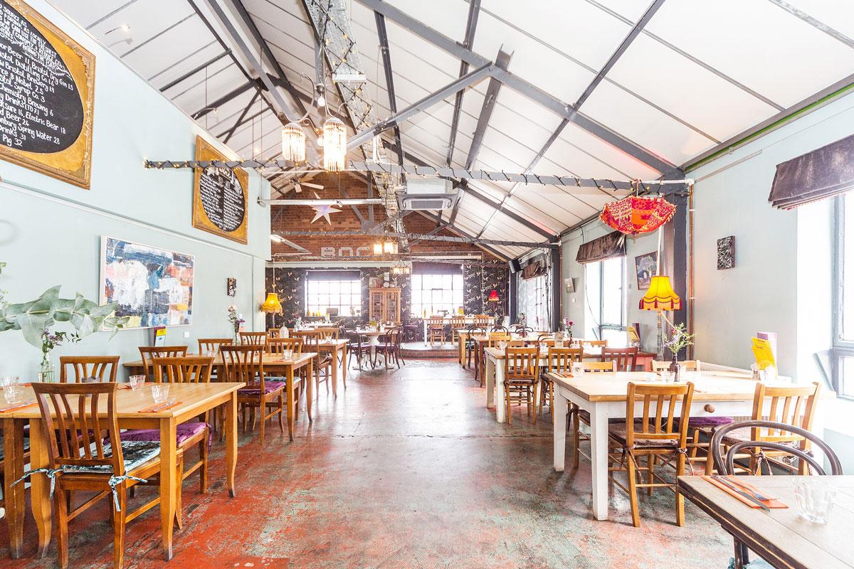 Bocabar - modern cafe bar and restaurant Paintworks, Bristol