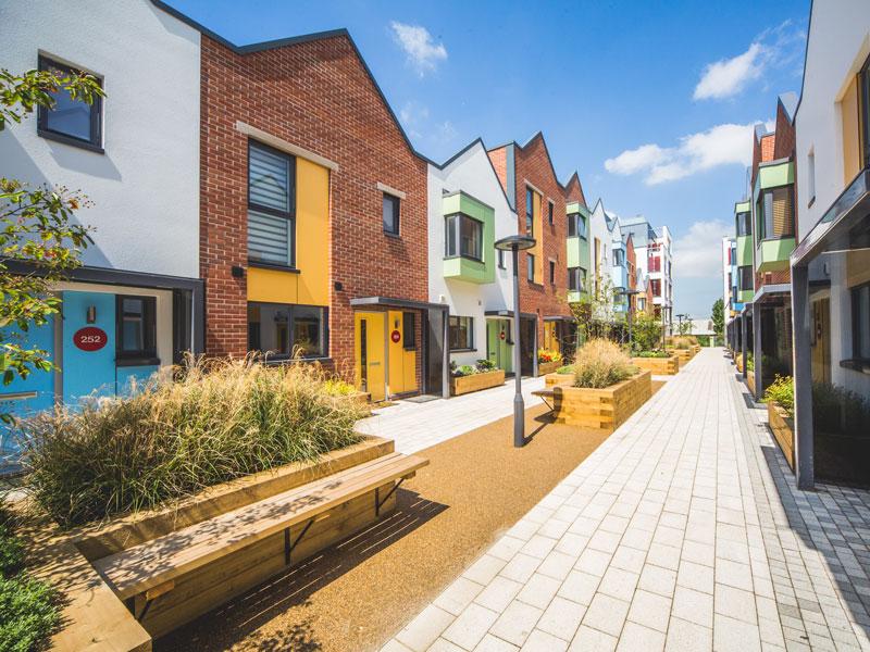 Crest Nicholson New Build Homes Paintworks, Bristol