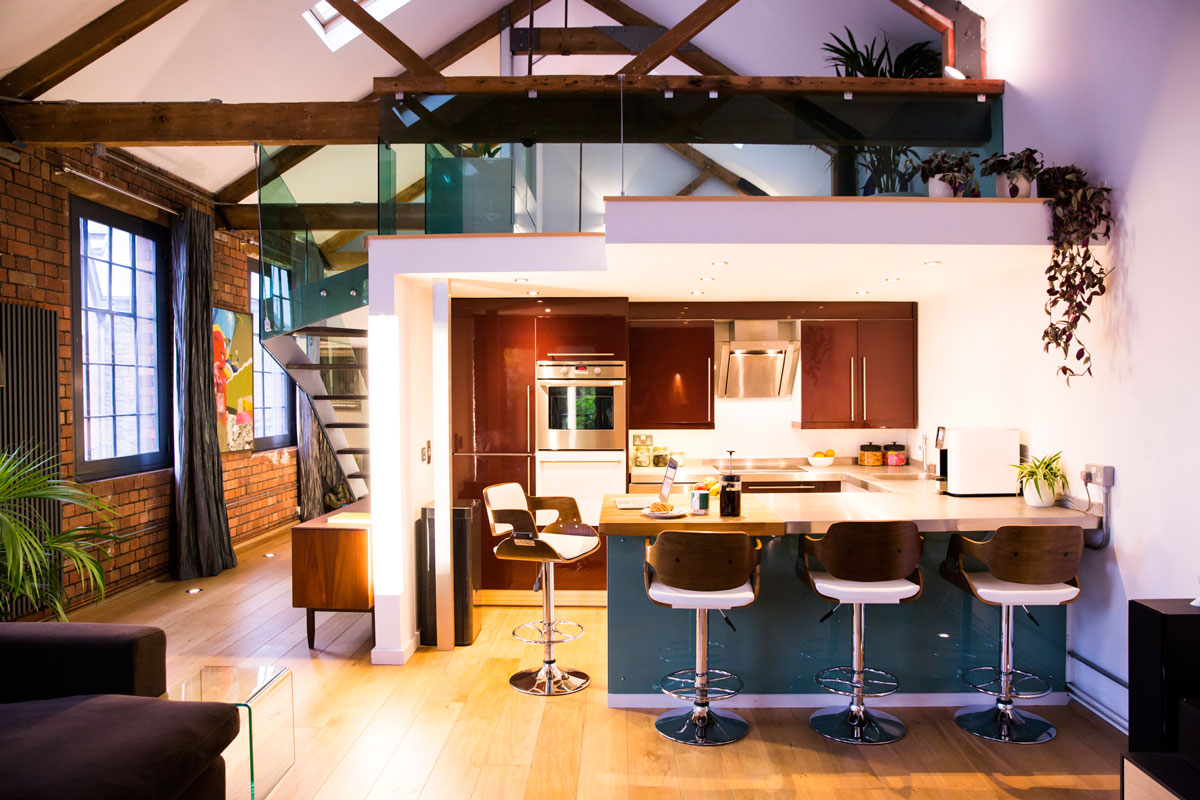 Residential lofts at