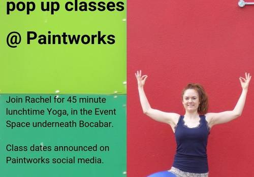 Yoga Pop-up @Paintworks
