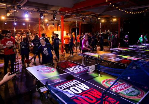 Ping Pong Fight Club Bristol 2018
